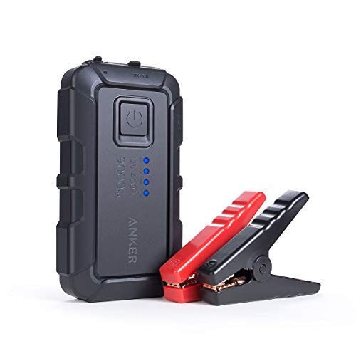 Anker PowerCore Jump Starter mini, Jump Starts Cars with up to 2.8L Engines, Portable Charger Power Bank, Advanced Safety Protection and Built-In LED Flashlight