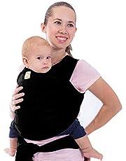 KeaBabies Baby Wrap (Trendy Black)