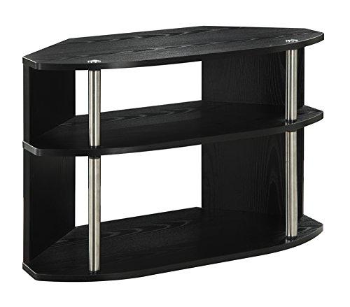 Convenience Concepts Designs2Go Swivel TV Stand Black