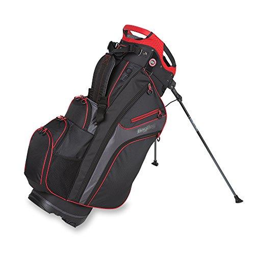Bag Boy Chiller Hybrid Stand Bag Black/Charcoal/Red Chiller Hybrid Stand Bag