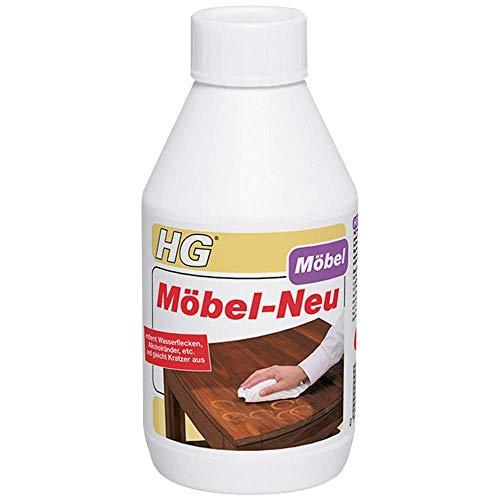 HG Möbel-Neu 300 ml – Entfernt Flecken und Verschmutzungen aus Dunkelholzmöbeln - Gegen Flecken, Ringe und Kratzer