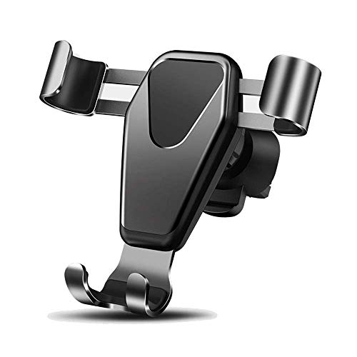 Soporte de teléfono móvil de Coche Soporte de teléfono de Aire Sensor de Gravedad Universal Soporte Soporte de Soporte 360 ° Rotación Jianyangshangmao (Color : Grey)