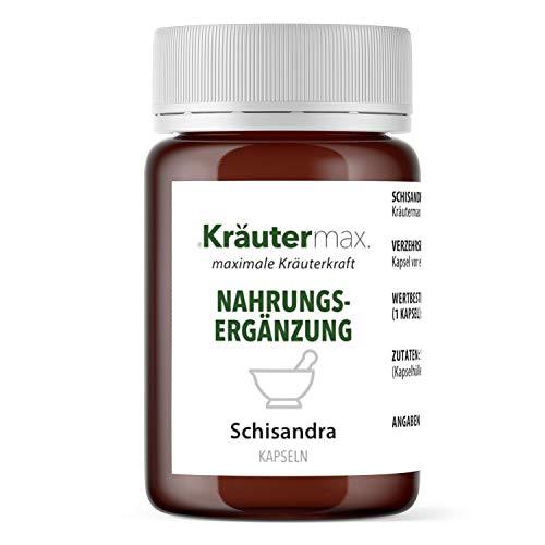 Schisandra Beeren Kapseln Pulver Extrakt Pflanze Vegan Hochdosiert Schisandrabeere 1 x 60 Stück