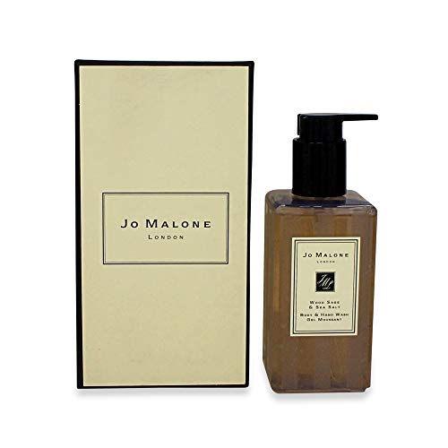 Jo Malone Wood Sage & Sea Salt Hand & Body Wash With Pump No Box/Unboxed,, 8.5 Fl Ounce ()
