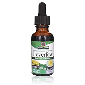 Feverfew (Tanacetum parthenium) is a member of the Daisy family. It is also known as Bachelor's Button, Bride's button, Altamisa, Featherfew, Featherfoil, Febrifuge plant, Feverfew, Flirtwort, Pyrethrum and Wild Chamomile. Feverfew is great to take t...