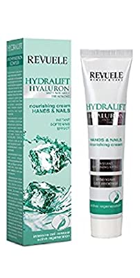 Revuele Hands & Nails Nourishing Cream Hydralift Hyaluron Anti-Wrinkle Treatment