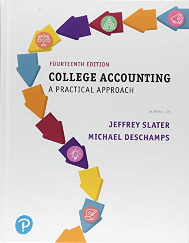 College Accounting: A Practical Approach (What's New in Accounting)