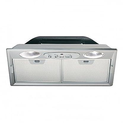 Foto di FABER Inca Smart C cappa gruppo incasso cucina cm 52 70 con filtri in alluminio (cm 52 + filtri carbone)