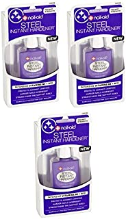 Set of 3-0.55 fl oz Nail Care kits Steel Hardener - Great for a Gift, Spa Day, or to Stock Up!