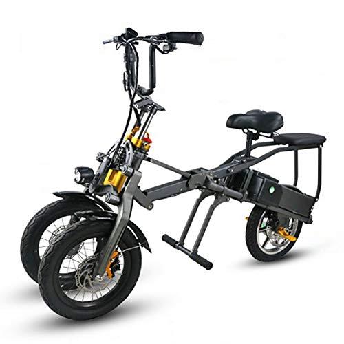 ACC Inklapbare elektrische fiets – draagbare, kort opgeladen lithium-ion-accu en geluidsarme motor met lcd-snelheidsweergave. Eenvoudig op te bergen in de caravans, auto's, boten.