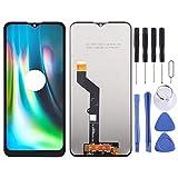 Zhoutao Teléfono LCD Pantalla Pantalla LCD y digitalizador Conjunto Completo para Motorola Moto G9 Play/Moto G9 (India) / Moto E7 Plus XT2081-1 Piezas de Repuesto para teléfonos celulares