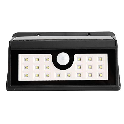 Hopcd Luz de inundación de Seguridad para Exteriores 20 LED Luz de...