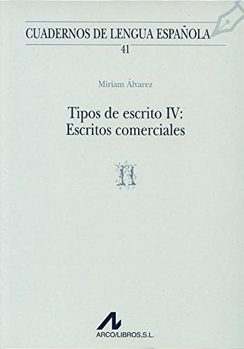 TIPOS DE ESCRITO IV
