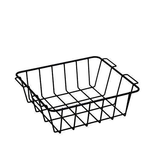 Meadowcraft Nice Basket, Black, 45Qt