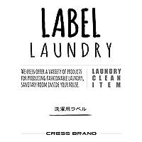 Skinny-Laundry-label 『手書きスキニー調・ランドリーラベル』ラベルのみ