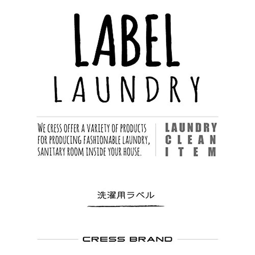 実際分割パッドSkinny-Laundry-label 『手書きスキニー調?ランドリーラベル』ラベルのみ