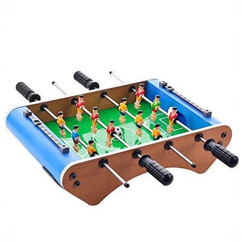 FANCYKIKI Große 6-Säulen Tischfußball Tischfußball Maschine Eltern-Kind Interaktive Tischspiele Kinderspielzeug (Size : 36.3 * 25 * 10.5cm)