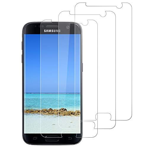 DOSNTO 3 Pezzi Vetro Temperato per Samsung Galaxy S7, Protezione Schermo, [Anti-Graffi/Impronta] [9H/Senza Bolle] [Alta Trasparente] Pellicola Protettiva Compatibile con Samsung Galaxy S7