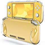 [Compatibility] Specially designed for Nintendo Switch Lite 2019 [High Quality] Built with premium TPU material. Protective, durable, and high-transparent [Reassuring Protection] Effectively protects your device from daily scratches, shocks, and othe...