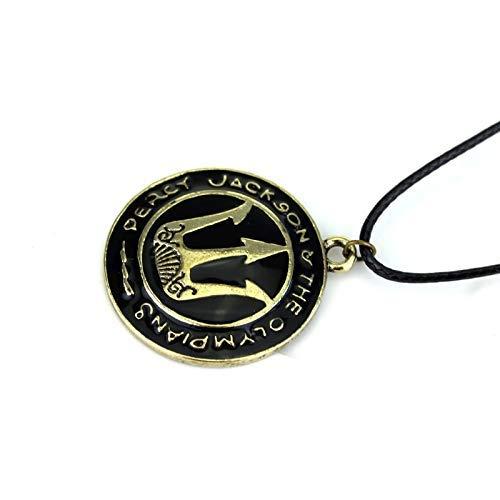 DYKJ Percy Jackson Collar Espada/Mestizo Caballo Volador/Tridente Cadena Colgantes Collares Hombres Mujeres Película Joyería Regalo de Recuerdo