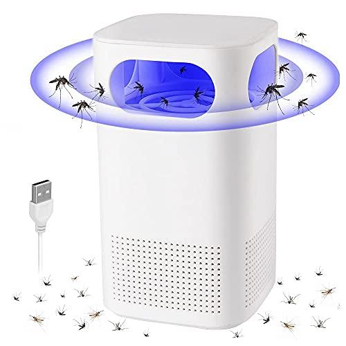Insekten vernichter, 2021 NEU Insektenvernichter Elektrisch, Mückenschutz Lampe, UV Fliegenfalle USB Moskito Schutz Falle Fluginsektenvernichter, Insektenlampe Für Innen Schlafzimmer Gärten