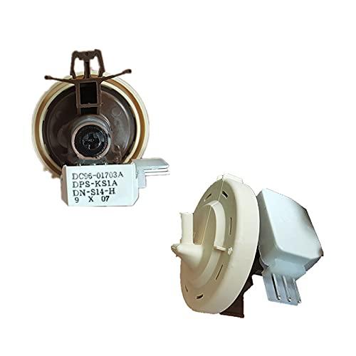 Junlucki Nuevo 1 Sensor de Nivel de Agua para Samsung wf1600wcw WF1702WCS, Repuesto para Lavadora de Tambor, Interruptor de Sensor de Nivel de Agua DC96-01703A