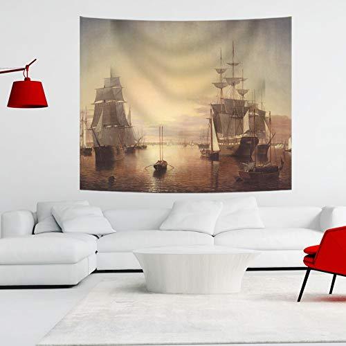 XIAOBAOZIGT wandtapijt, zeilen, digitale bedrukking, strandhanddoek, grote sjaal, voor woonkamer, slaapkamer, slaapkamer, decoratie voor kinderen 130×150cm