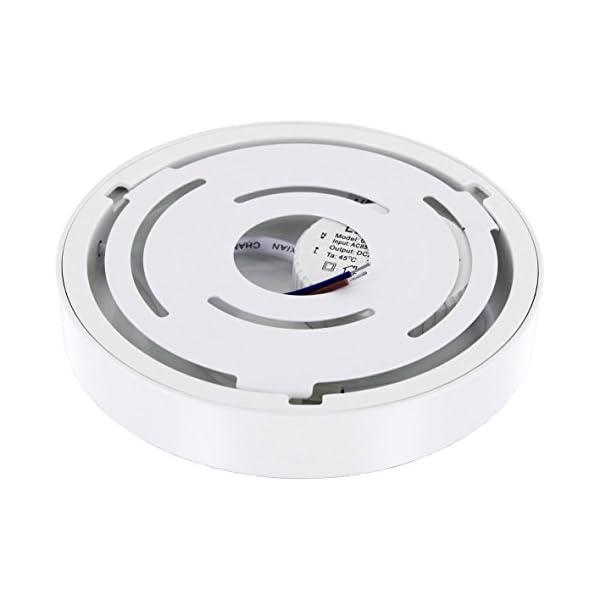Ultraslim-LED-12W-rund-Aufbau-Panel-230V-24mm-flach-Aluminium-Druckguss-980lm-140x235mm-tageswei-4000-K