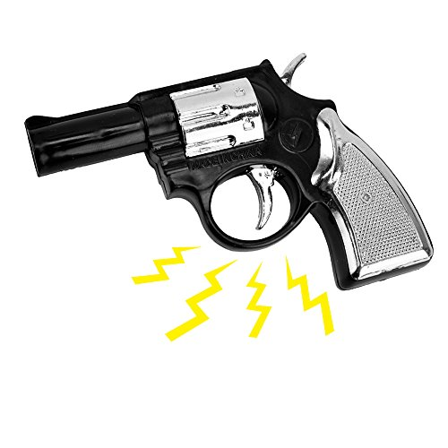 Fengirl Electric Shock Gag Gun Toy Light Gift Prank Trick Party
