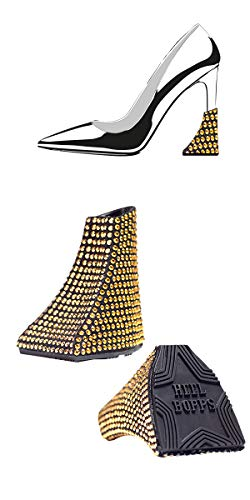 Glam - High Heels Absatzschoner (Gold)