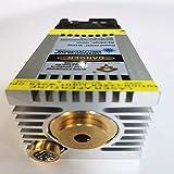 (30) Testa laser, modulo laser blu, incisione super veloce di acciaio inossidabile e metallo ossidato, elevata trasmissione della luce, con PWM TTL