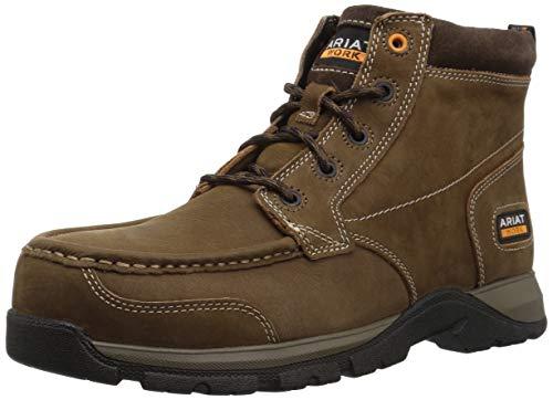 Ariat Work Men's EDGE LTE CHUKKA Composite Toe Boot, dark brown, 12 D US