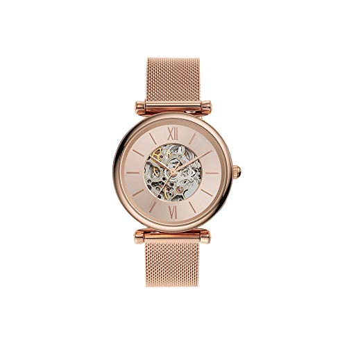 Fossil Analog Gold Dial Women's Watch-ME3175