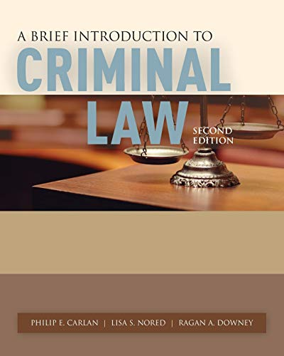A Brief Introduction to Criminal Law