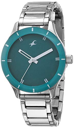 Fastrack Analog Green Dial Women's Watch