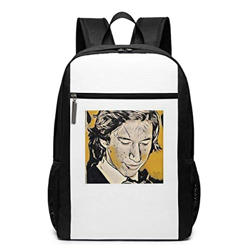 Lsjuee Reylo Art Backpack Unisex School Daily Backpack Lightweight Casual Travel Outdoor Camping Daypack