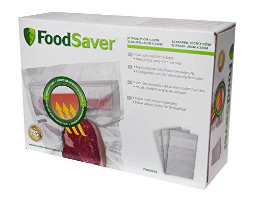 FoodSaver FVB003X, Bolsas Barrera de Envasado al Vacío, 32