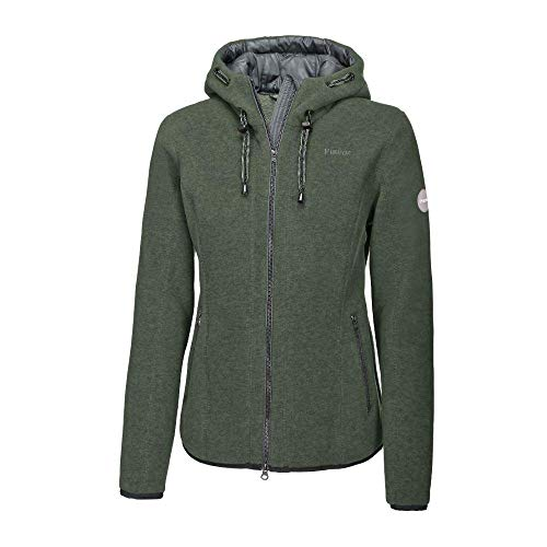 Pikeur Damen Outdoor Fleecejacke JASNA Classic Collection Herbst-Winter 2019/2020, Thyme, 38