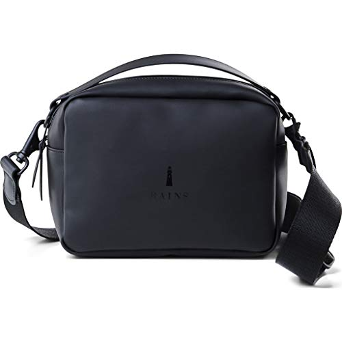 RAINS Box Bag Sac à main pour femme Taille unique Noir