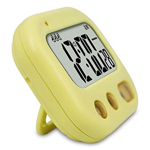 QQB Moda Reloj de Escritorio Alumno Dormitorio Vibración Reloj de Alarma Temporizador de Cuenta Regresiva Silencio Dibujos Animados Vibración Reloj de Alarma (Color : D)