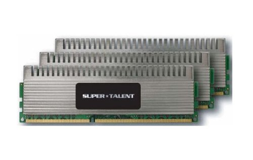 Super Talent Chrome Series Arbeitsspeicher 6GB (2000 MHz, 240-polig, 3X 2GB) DDR3-RAM Kit3