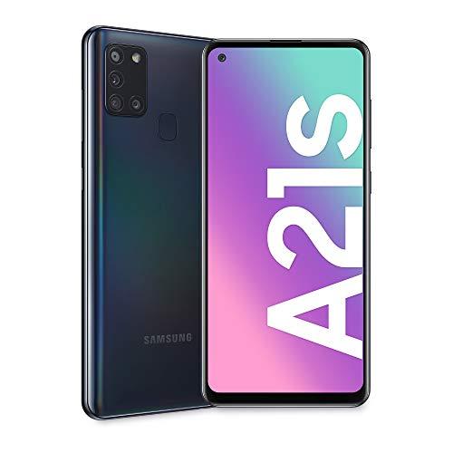 Samsung A21 Galaxy A21s Teléfono, 4G 32 GB, Doble SIM, Negro, para Europa