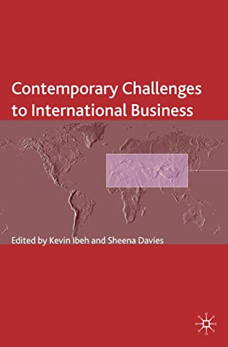 Contemporary Challenges to International Business (The Academy of International Business)