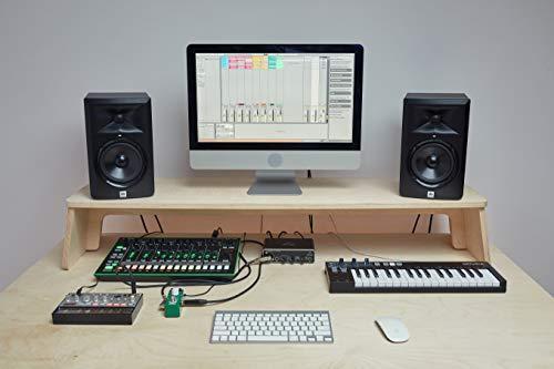 Soporte para monitor de estudio musical 145x30x15cm