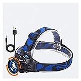 ROM Torcia a LED Torcia a LED Torcia Ricaricabile incorporata Batteria per caricabatteria da Parete per Auto Luce da Campeggio
