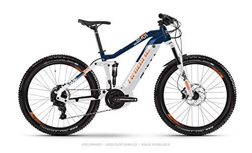 Haibike Sduro FullSeven LT 5.0 27.5'' Pedelec E-Bike MTB weiß/blau/orange 2019*