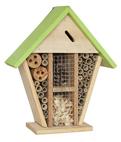 SIAM EXPRESS Insect Wooden Hotel House Nest Home Bee Keeping Bug Garden Ladybird Box Fix On Hook 24-20