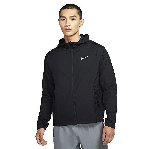 Nike Essential Kapuzenjacke White/pink Blast-Black L