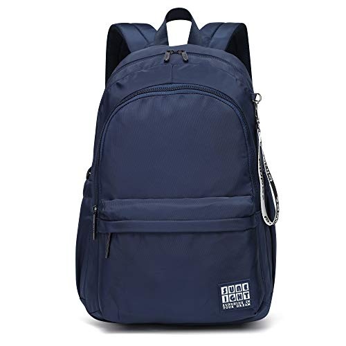 Kids multi-pocket backpack for School Laptop Bag Boys and Girls and Travel Summer Camp Casual Daypacks (Navy-Blue) …