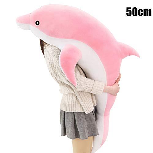 Monkys Dolphin, muñeco de Peluche Realista, muñeco de Peluche de delfín, Regalo para niña, Almohada, muñeco de Peluche Suave, Almohada de simulación, muñeca de Animal